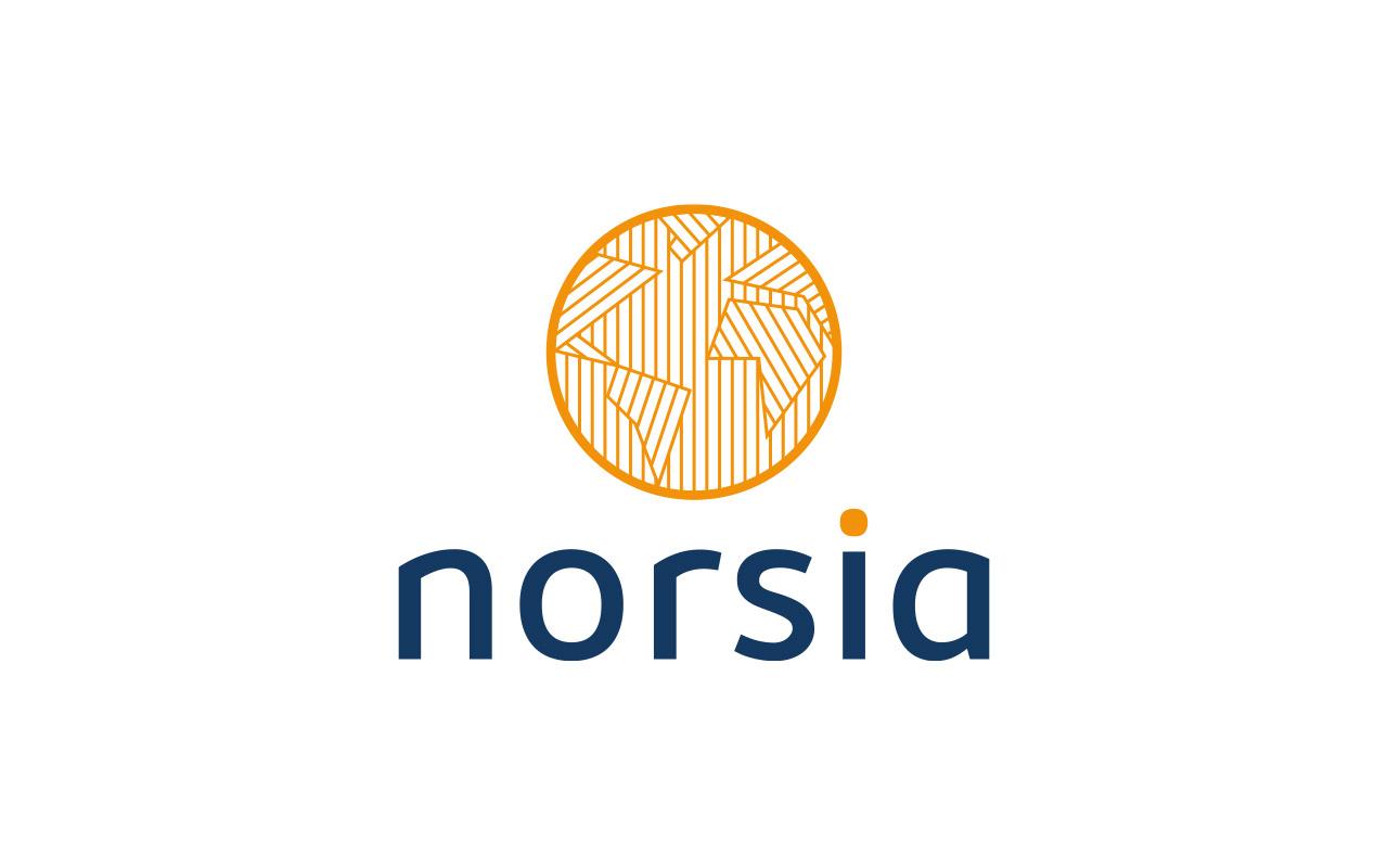 Norsia logo réalisé par Atelierlak