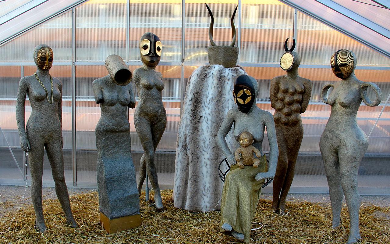 Mael Denegri sculptures